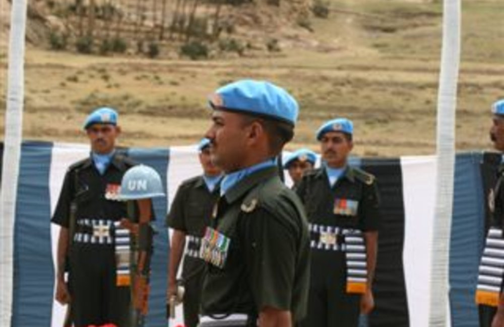 UN Peacekeepers Day, Adigrat 31 May 2007 (Photo: Ian Steele)